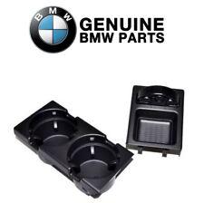 For BMW GENUINE E46 Black Cup Holder & Coin Holder 323 325 328 330 M3