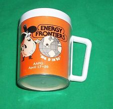 1983 ENERGY FRONTIER PETROLEUM AAPG TOBIN MAP DALLAS SAN ANTONIO HOUSTON MUG CUP