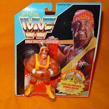 VINTAGE 1991 HASBRO WWF WRESTLING SERIES 1 HULKSTER HUG HULK HOGAN MOC CARDED