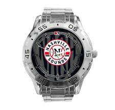 Nashville Sounds MiLB Stainless Steel Analogue Men's Watch Gift
