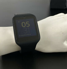 Sony SmartWatch 3 SWR50 with Silicone Black Band