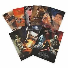 Star Wars: The Force Awakens Limited Edition Lithographs, Set of 7 Disney Store