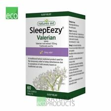 Natures Aid Herbal SleepEezy Valerin Root Extract 150mg Sleep Relief 60 tabs