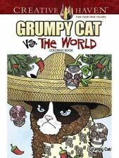 Grumpy Cat Vs. The World Coloring Book Brand New Free Shipping!