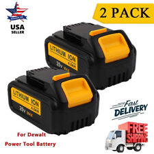 2 X 20V MAX 4.0Ah Lithium-Ion XR Battery for Dewalt DCB200 DCB203 DCB201 20 VOLT