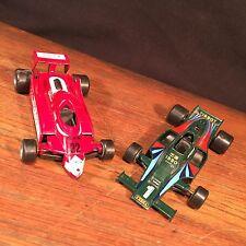 Polistil Alfa Romeo & Lotus Motta Essex Indy Race Car Lot (2) 1:41 PRIORITY MAIL