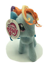 "Ty Beanie My Little Pony Rainbow Dash Pony Plush Stuffed Pegasus 8"" Blue Horse"
