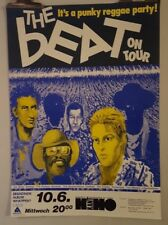 The Beat punky reggae party tour 2000 Original Concert  poster
