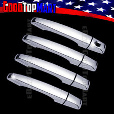 For Cadillac CTS 2008 2009 2010 2011 2012 2013 Chrome 4 Door Handle Covers w/oPK
