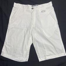 Size 32 Mens Oakley White Shorts ⛳️