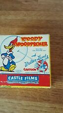 """Woody Woodpecker 494 """"Solid Ivory"""" Castle Films 8Mmor 16Mmsound/silent projector"""
