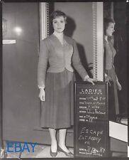 Julie Andrews Sound of Music Photo from Original Neg costume test