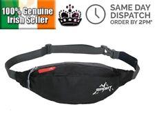 Unisex Sports Nylon Waist Fanny Pack Belt Travel Purse Zipper Wallet Bum Bag Hip