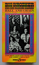 BIG BROTHER and the Holding Company BALL AND CHAIN video VHS tape LIVE 1967