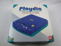 Console with box Playdia Bandai Japan Ver