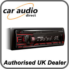 Alpine UTE-204DAB Mechless DAB+ Car Stereo Radio Bluetooth MP3 FLAC USB AUX EQ