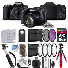 Canon PowerShot SX530 HS Camera + Spider Tripod + Monopad + EXT BAT - 16GB Kit