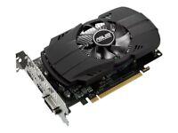 NEW! Asus PH-GTX1050TI-4G Graphics Card Gf Gtx 1050 Ti 4 Gb Gddr5 Pcie 3.0 X16 D