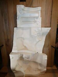 Alberta's Ceramic Slip Mold 817 Huge Cow Cookie Jar and Lid 1981
