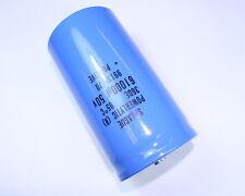 1x 61000uF 50V Large Can Electrolytic Aluminum Capacitor DC 50VDC 61,000uf 95C