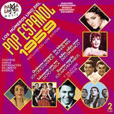 LOS Nº1 DEL POP ESPAÑOL 1959 -2CD
