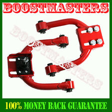 For 96-00 Honda Civic Front Tubular Adjustable Control Arm Camber Kit Red