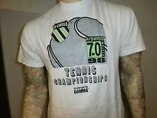 K-Swiss System 7.0 Tennis Tournament T Shirt vtg 90's Championships 1998 Large