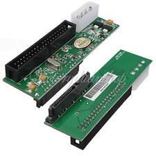 """2.5""""/3.5"""" Hard Drive Serial SATA to ATA IDE PATA Card 40 Pin Converter Adapter"""