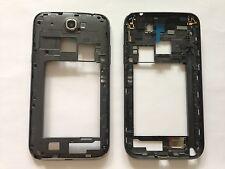 NERO GRIGIO QUADRO CORNICE CENTRALE CHASSIS FRAME COVER Samsung Galaxy Note 2 n7100