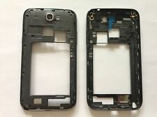 Noir Gris Cadre central Boîtier Frame Cover samsung Galaxy Note 2 n7100