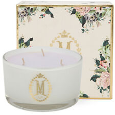 New MOR Marshmallow Grand Deluxe Soy Candle 600g 3 Wicks Burns up to 90 hours