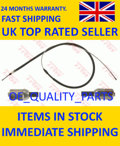 Rear Handbrake Cable Brake Wire GCH498 TRW for Peugeot 2008 207 Cc 207 Sw 20 LHD