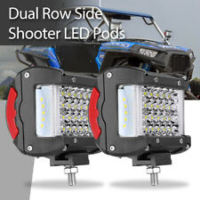 2x 340W LED Work Light Bar Pods Combo Flood Spot Fog Lamps Offroad 4WD 6000K 12V