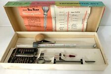 Betty Furness Westinghouse Tru-Temp Thermometer Set Meat Candy Chaney USA 1950s