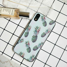 Cute Peach Phone Case For iPhone XR 7 8 Plus 11 XS Max Clear Gel Soft TPU Cover