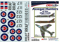 1/32 Hawker Hunter - Assegai Hunters of the High Veldt RhAF Decals