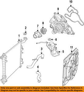 CHRYSLER OEM-Radiator 52014529AB