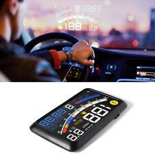 """5.5"""" 12V Car OBD2 II HUD Head Up Display Fuel Consumption Speed Warning System"""