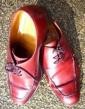 Vintage Grenson Footmaster Calf Oxblood Apron Front Derby  Size 7 1/2 F  Mod