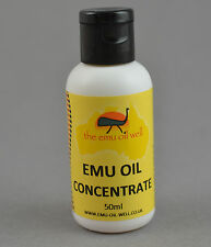 Concentrated Essence Of Pure Australian Emu Oil Muscle & Joint Pain Relief 50 ml