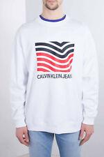 Sweat Calvin Klein Bright White Homme