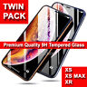 Tempered Glass Screen Film Protector for iPhone XS Max,XR,XS,X