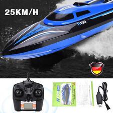 H100 2.4GHz RC Boot Ferngesteuerte Speedboot Rennboot Racing Boat 180Grad Flip