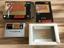 The Legend of Zelda - A Link to the past (SNES / Super Nintendo) OVP + Anleitung