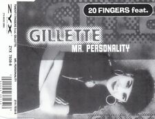 20 Fingers Feat. Gillette - Mr. Personality (6 Track Maxi CD)