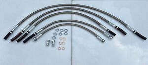 Ford Sierra Sapphire 2wd/3Door/4x4 Cosworth Stainless Steel Fuel Flexi Line Kit