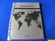 Jamo DMR 60 Owner's Manual  Operating Instructions Mode D'emploi New