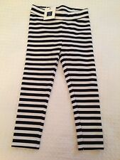 Janie and Jack Navy Blue Striped Leggings Size 3/3T, ~NWT~