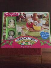 New Rare Calico Critters Tea Cup Ride CC1469