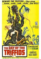 The Day of the Triffids - Howard Keel - A4 Laminated Mini Movie Poster